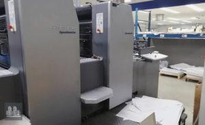 ماكينة طباعة هايدلبرج سبيد ماستر مقاس نصف الفرخ Heidelberg SM 74-5P H