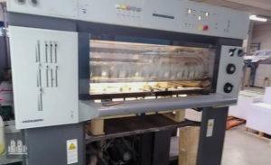 5 renkli baskı makinesi Heidelberg Speedmaster SM 74-5 (2001)