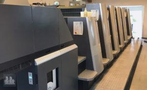 印刷機 Heidelberg XL 75-5-P2-LX 製造年 (2008)