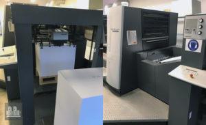 máquina de impresión Heidelberg Speedmaster XL 75-5P+LX ano 2008