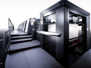 Heidelberg Speedmaster XL 105 машина класса Peak Performance с высокой производительностью