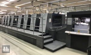 8-colors offset printing machine Heidelberg XL 105-8P5 (age 2011)