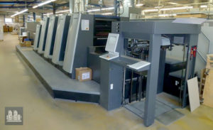 used printing machine Heidelberg XL 75-4+L (2014)