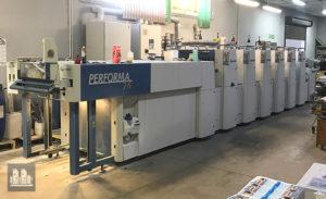 ऑफसेट प्रिंटिंग मशीन KBA-Grafitec Performa 74-5+L (2007)