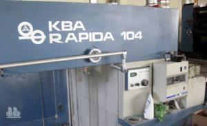 tiskařské stroje Koenig & Bauer Rapida Ra104-5 (1993)