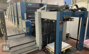 máquina offset de impressão KBA Rapida 105-5+L ALV Hybrid UV (ano 2003)