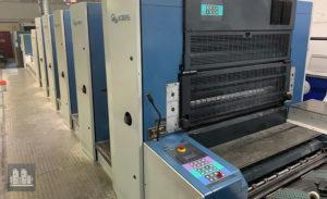 gebrauchte Druckmaschine KBA Rapida 105-5+L ALV CX Hybrid (UV) jahr 2003