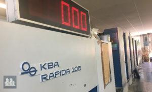 8 красочная KBA Rapida RA105-8 SW PWHA (2002 год)