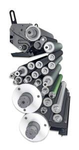 красочный и увлажняющий аппараты КБА Рапида 105