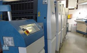 ऑफसेट प्रिंटिंग मशीन KBA Rapida 66-4 (2011)