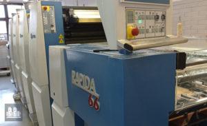 آلة الأوفست المستخدمة KBA Rapida 66-4 (2011)