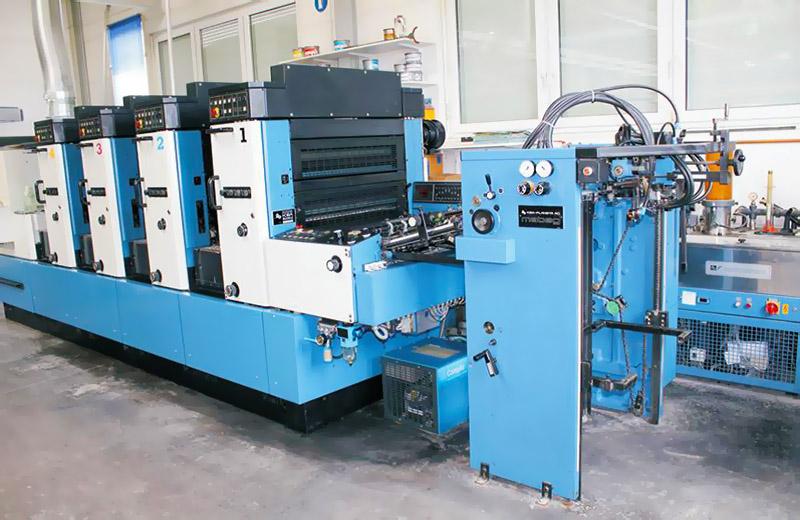 печатная машина KBA Rapida 72-4