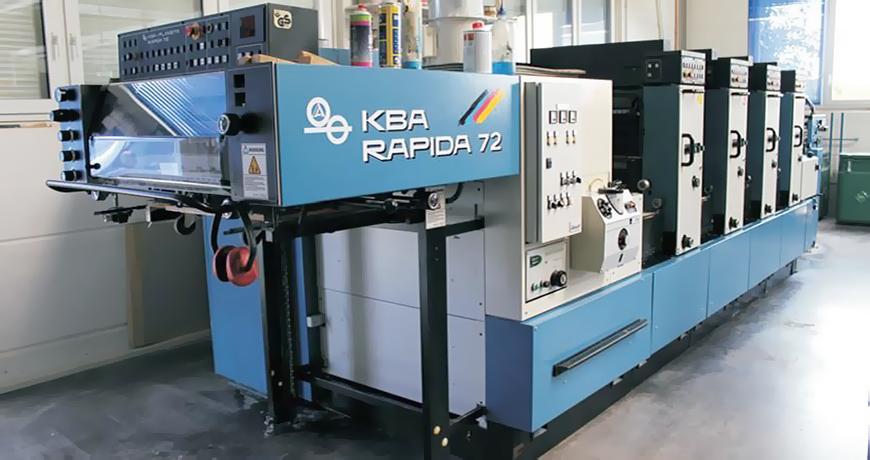 KBA Rapida 72. Описание и технические характеристики