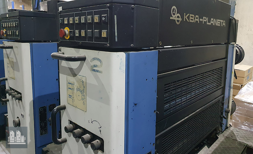 KBA Rapida 72-5+L УФ (1999 год)