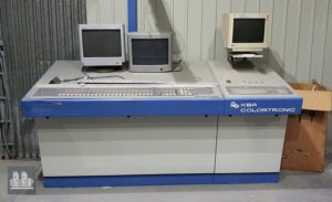 пульт KBA Colortronic (управление краскоподачей и приводками)