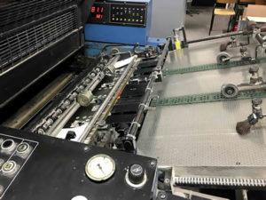 каскадный вакуумный стол KBA Rapida 72