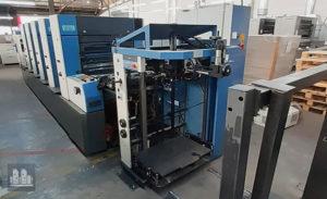 gebrauchte Druckmaschine KBA Rapida 74-5 jahr 2002