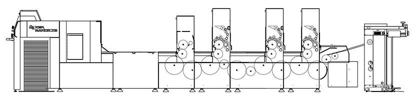 схема печатной машины KBA Rapida 74