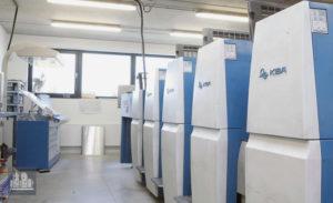 máquina offset de impressão KBA Rapida 75-4 (ano 2008)