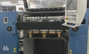 ماكينة طباعة 4 لون مقاس نصف الفرخ KBA Rapida 75-4 (2008)