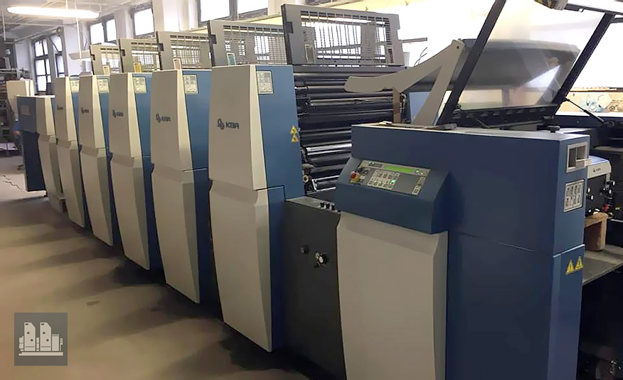 used offset press KBA Rapida 75-5 CX (age 2013)