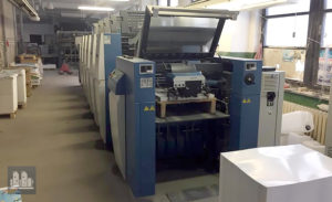 máquina offset de impressão KBA Rapida RA 75-5 CX (ano 2013)