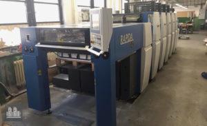 machine d'impression offset KBA Rapida 75-5CX (année 2013)