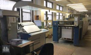 gebrauchte Druckmaschine KBA Rapida 75-5E CX jahr 2013