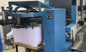 4-farben gebruikte offset machine KBA Rapida 74-4+LX (jahr 2001)