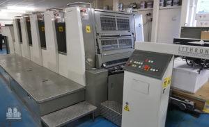 печатная машина Komori Lithrone LS 529 (2009 год)