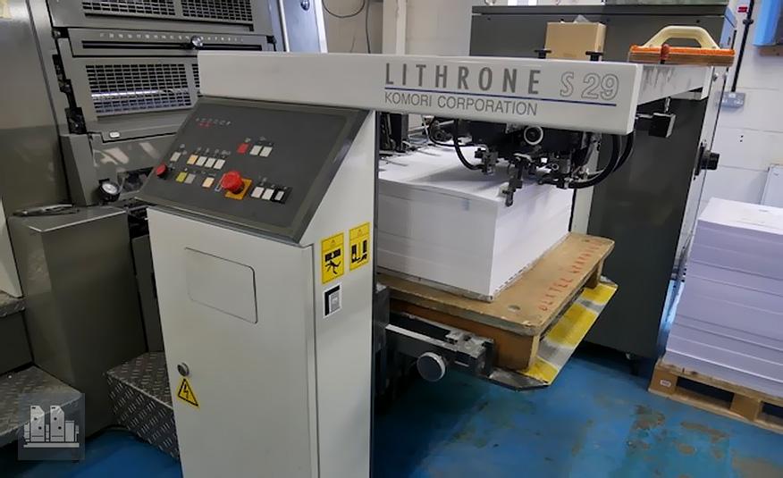 Komori Lithrone LS 529 (2009 год)