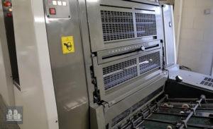 printing machine Komori Lithrone LS529H (2009)