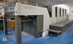 印刷機 Komori Lithrone LS-529 H 製造年 2009