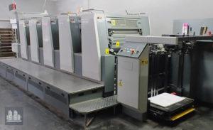 5色二手膠印機Komori Spica 529(年齡2009)