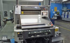 5 renk ofset makinesi kullanıldı Komori Spica 529 (yaş 2009)