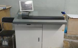 Komori Spica 529 ofset mashinasi ishlatilgan 5 ta rang (2009 yil)
