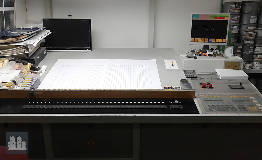 MAN Roland 702P 3B (1996 год)