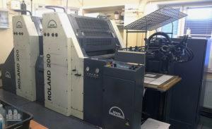 máquina offset de impressão MAN Roland 202 E (ano 2005)