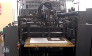máquina de impresión MAN Roland 202E (ano 2005)