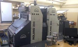 used printing machine MAN Roland R202 E, age 2005