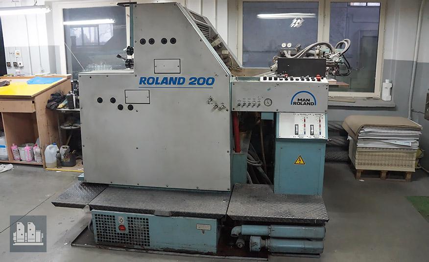 MAN Roland 202 TOB (1989 год)