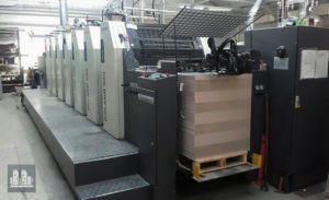 used offset machine Roland 206 + L HiPrint (age 2008)