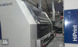 machine d'impression offset MAN Roland 206E+L HiPrint (année 2008)