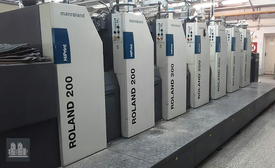 MAN Roland 206 HiPrint InlineCoater smart (2008 год)