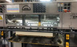 used offset press MAN ROLAND 704 3B (age 1998)