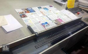 máquina offset de impressão MAN ROLAND R 704 SW (ano 1998)