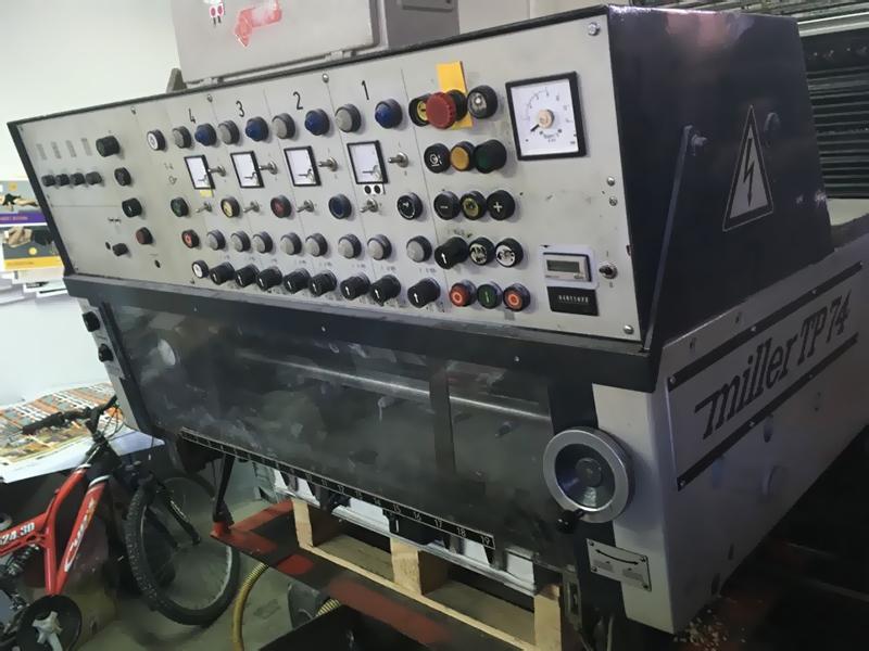 приёмка с кнопками управления Miller TP 74-4