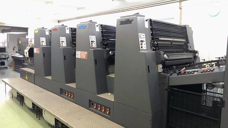 печатная офсетная машина Miller TP 94/4c