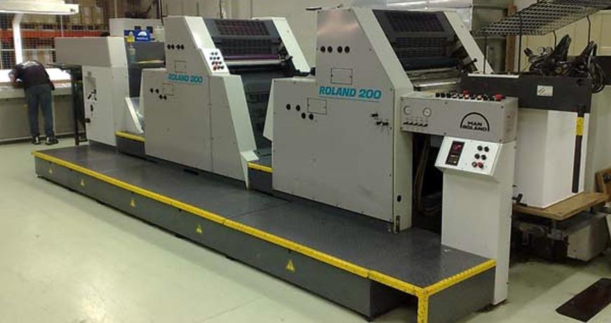 печатные машины Roland 200 серии OB