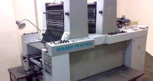 листовые офсетные печатные машины серии Roland Practica
